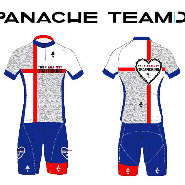 Team jerseys and kits now on pre-order at touragainsttrafficking.org