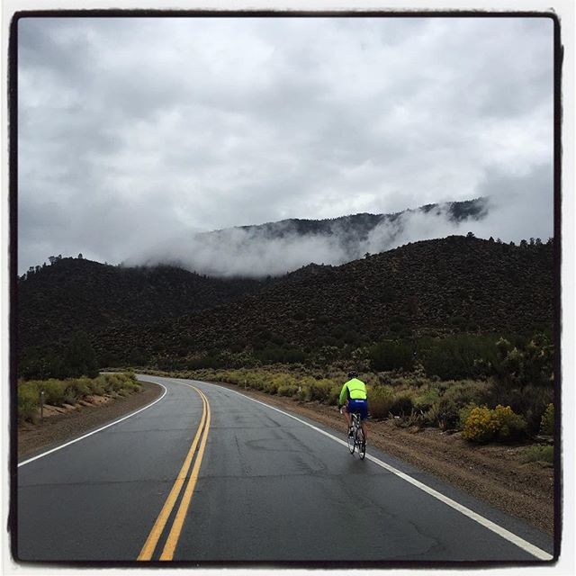 Climbing up to Walker Pass during the Tour Against Trafficking. #endHT #touragainsttrafficking