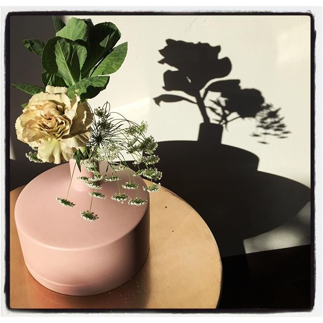 Flower still life @decoeurbakeshop in afternoon light. #iphoneography #theiphonephotographer #SoCal #foodie