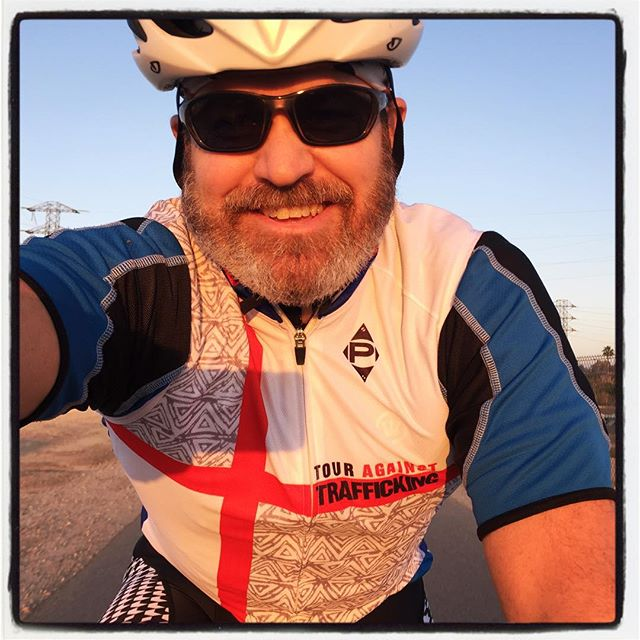 Sunday afternoon recovery ride on the Bakersfield bike trail wearing my Tour Against Trafficking vest! @panachecycle #theiphonephotographer #iphoneography #bikelife #touragainsttrafficking