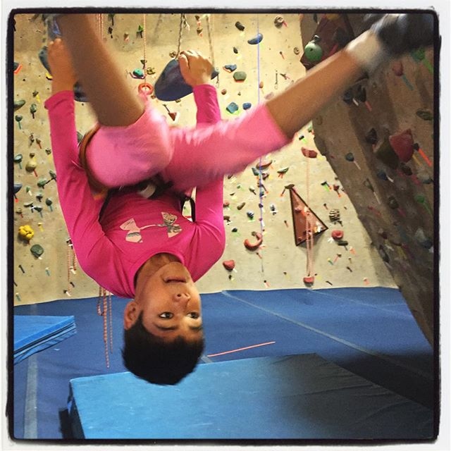 Hang in there kid ;) Climb like a girl! #SoCal #theiphonephotographer #climbinglife #iphoneography #climblikeagirl