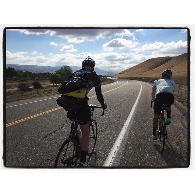 Early Sunday morning ride w/ Thomas and Zach. #bikelife #panachecyclewear  #socal #touragainsttrafficking #mile3