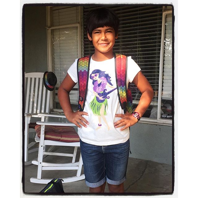 First day of Third Grade. Wow. #dadlife #socal #iphoneography