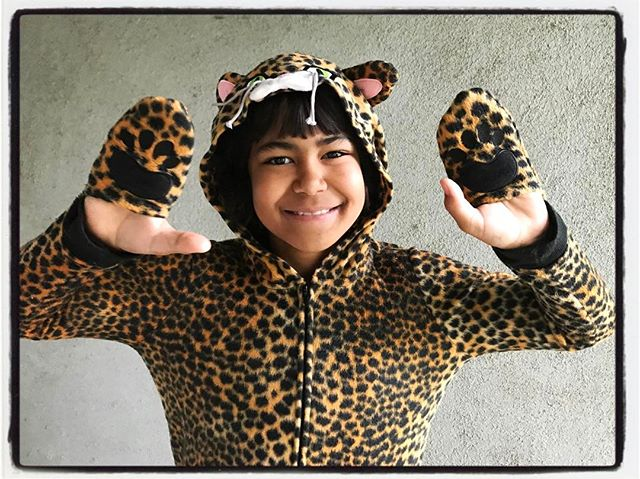 Cheetah Pup in full effect! #dadlife #iphoneography