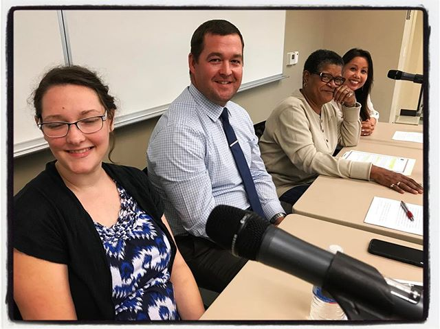 The A-Team, anti-Human Trafficking, about to lead a panel discussion @CSUB as part of the Kegley Institute of Ethics two-day about modern day slavery. #kcaht #touragainsttrafficking #thetraffickedlife #endhtnow