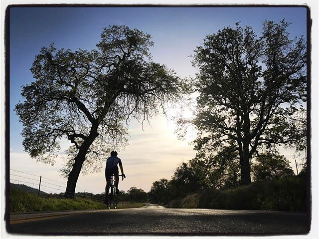 @gsenns riding down Granite Road on his way to finishing the Woody-crossover. #touragainsttrafficking #mile3 #bikelife