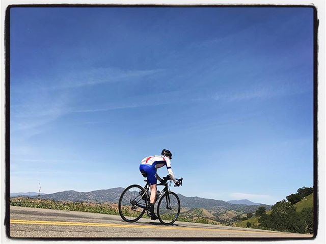 @gsenns descending into Woody. #touragainsttrafficking #mile3 #bikelife