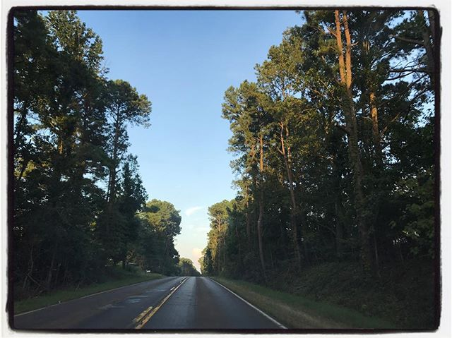 Driving out of the Delta, finally made it to Mississippi. #roadtrip #headed2olemiss
