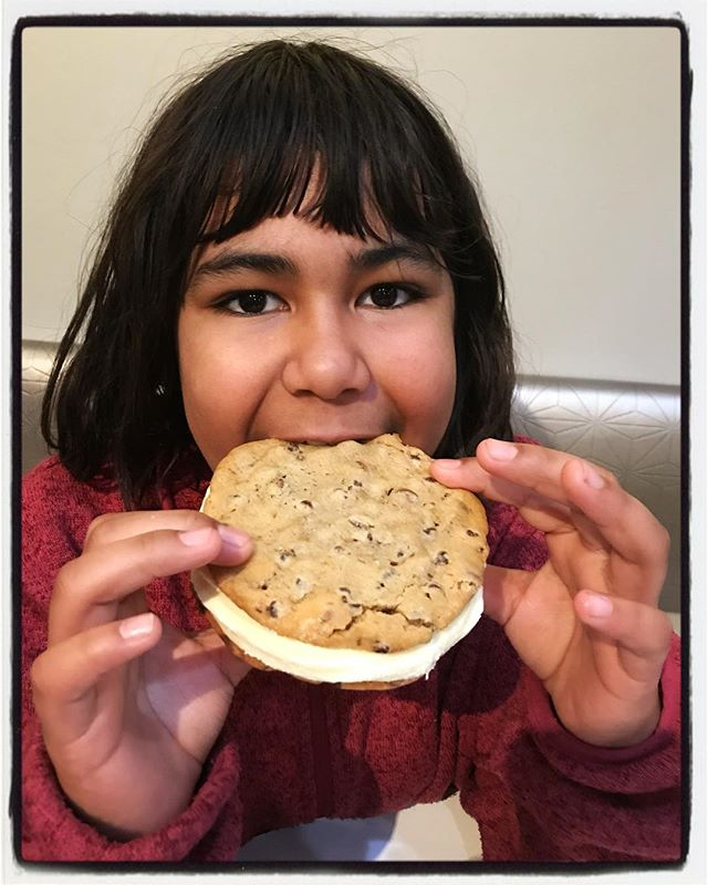 Ice cream cookies almost as large as your head at the Oxford Canteen! #eatlikeyoumeanit #oxfordcanteen