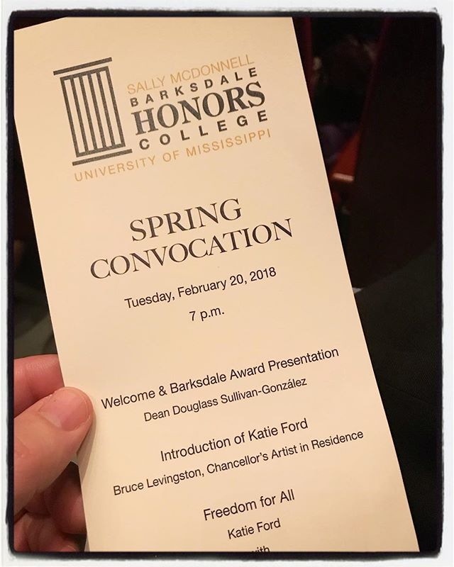 Anti-human Trafficking event at the Honors College at the University of Mississippi. Katie Ford and Shandra Woworuntu of Freedom for All. #endhtnow #touragainsttrafficking