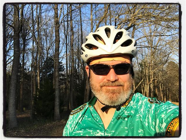 Complicated day for wearing green and orange. #bikelife #touragainsttrafficking